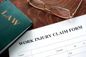 Worker's Compensation Injury Claim form