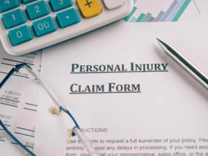 Personal Injury Claim Form in Columbia South Carolina